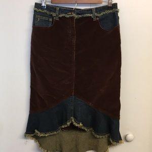 🧸Buffalo David Bitten Western Style Skirt